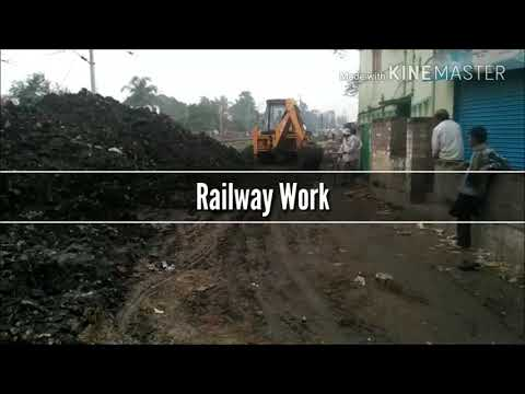 new railway track construction in india | How it's work ? | HD