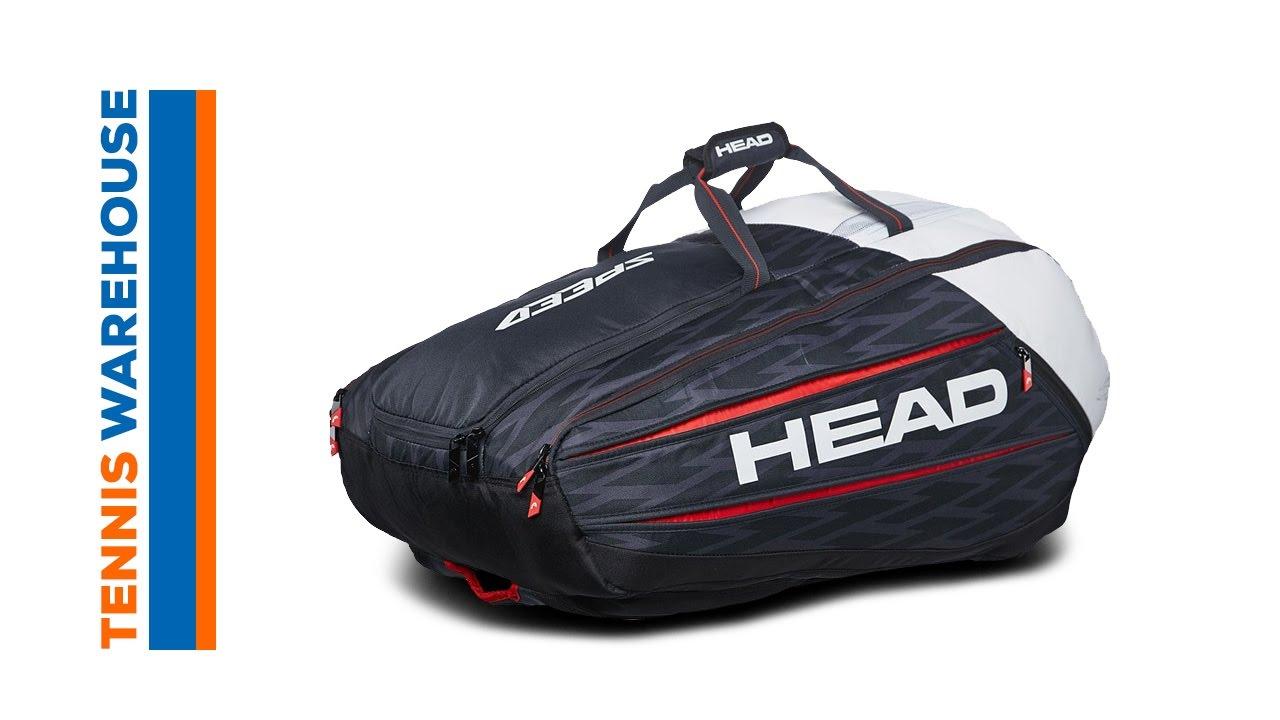 Head Djokovic 12 Pack Monstercombi Bag Youtube