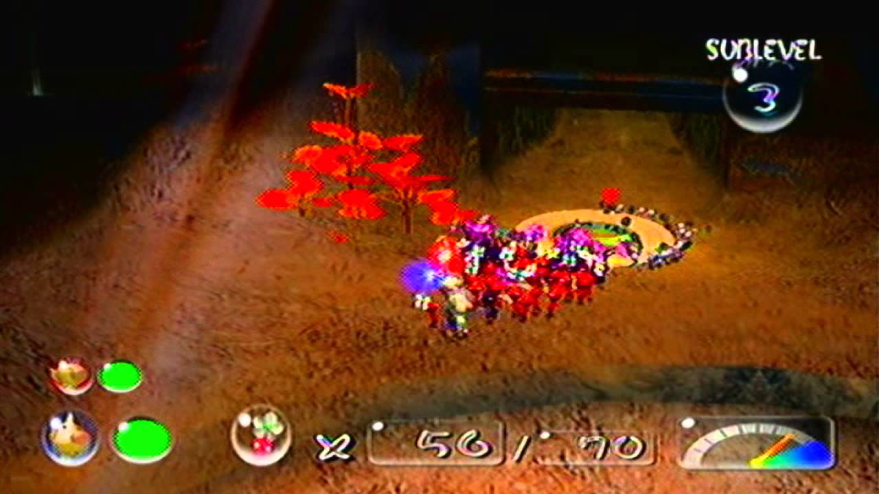 Pikmin 2 Wii Day 4 24 White Flower Garden Youtube
