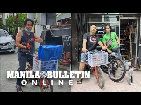 Delivery man bikes 3 hours from Manila to Cavite; touches hearts of netizens