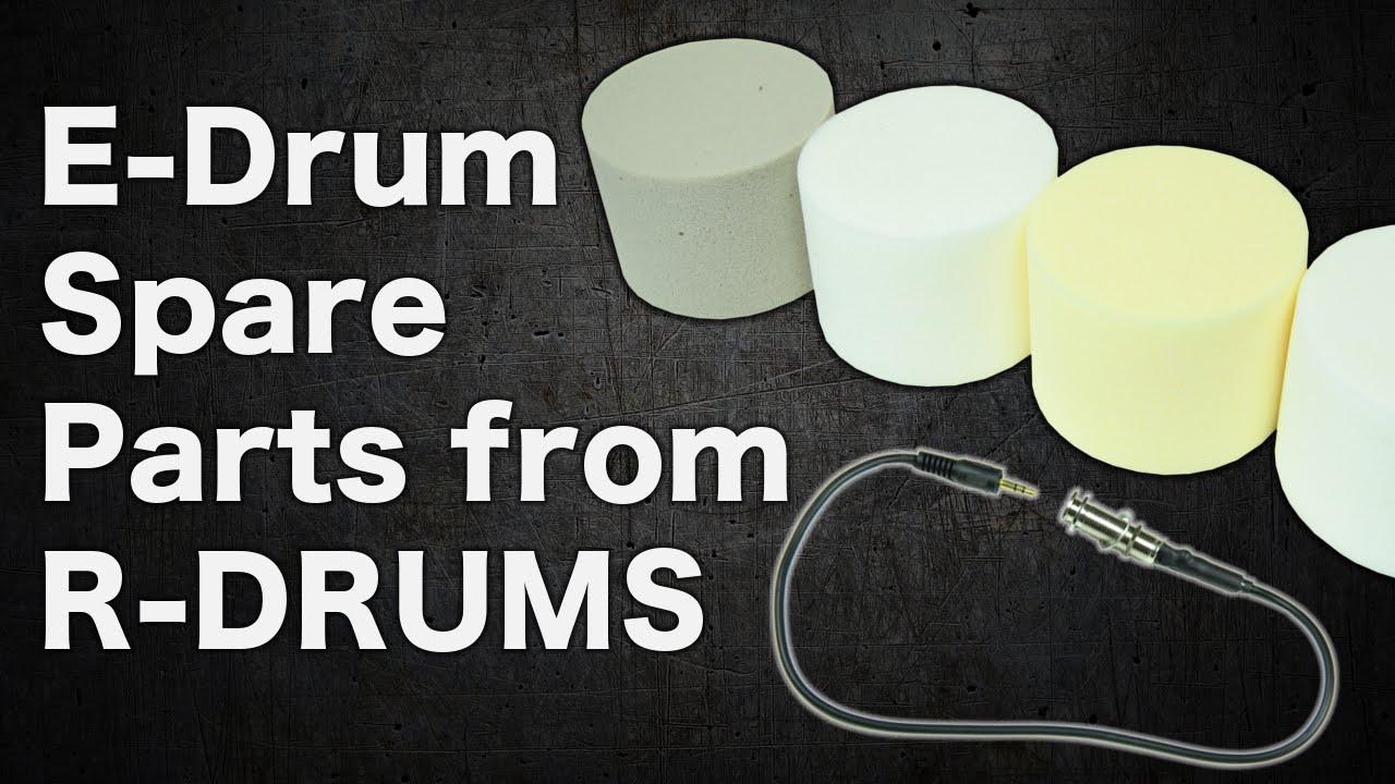 E Drum Spare Parts Roland Kd Cushion Diy Youtube