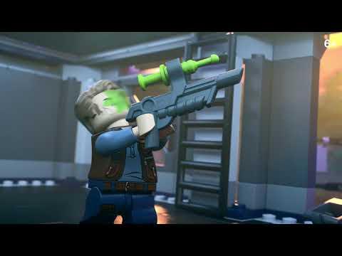 Спаси Блю - Опасности Мира Юрского периода LEGO Jurassic World