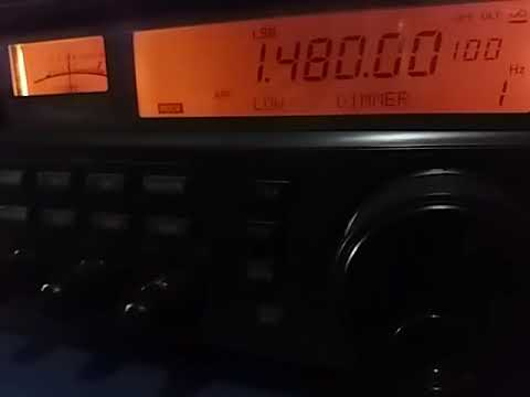 1480 kHz: Radio America, Nemby PARAGUAY