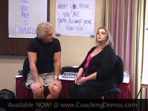 Coaching Demonstration with Sarah: overcoming stagefright -- John Overdurf