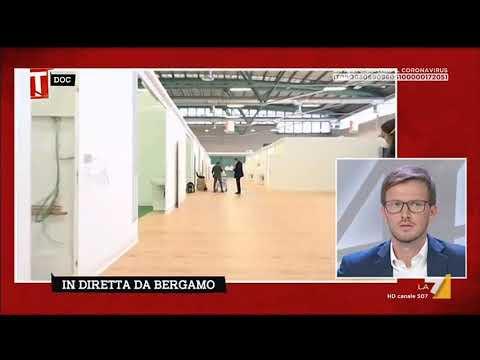Coronavirus, dentro il nuovo ospedale della Fiera di Bergamo