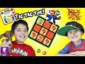 Tic Tac Toe and Checkers Games! HobbyPuppy Plays with HobbyKids