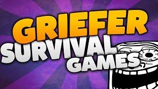 survivalgames mit einem griefer minecraft trolling 1 8