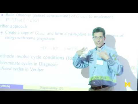 Stéphane Lafortune | Definitions Of Diagnosability