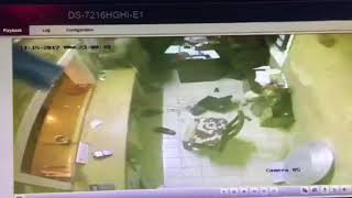 #فيديو_ترند.. إطلاق نار وسطو مسلح في مطعم