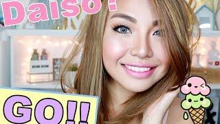 DAISO Only Make Up Challenge!! (Edi WEW)