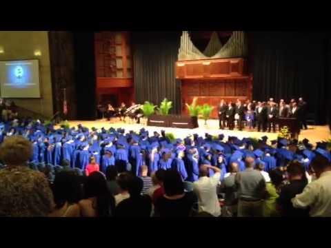 Pa cyber 2013 Graduation walk in