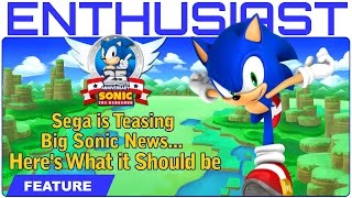 Sega is Teasing Big Sonic News.. Here