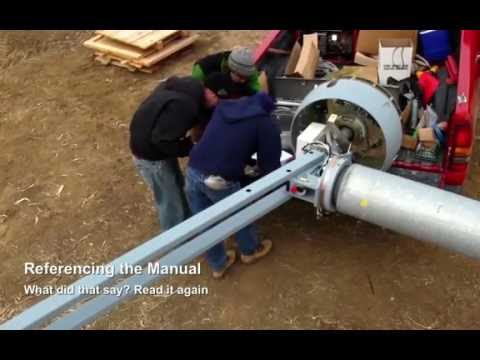 Wind Turbine Installation Evance 5 kW