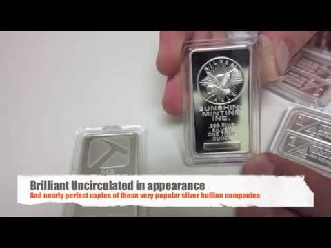 Counterfeit Silver Bullion Bars - How to Spot a Fake