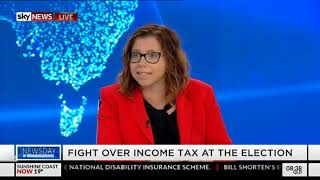 Sky News - 4 April 2019 - Income tax cuts