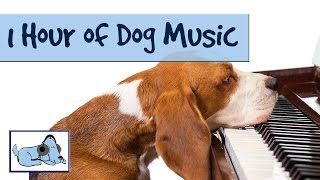 OVER 1 HOUR OF RELAXING DOG MUSIC! Music for dogs; stop barking, crying! Great for crate training