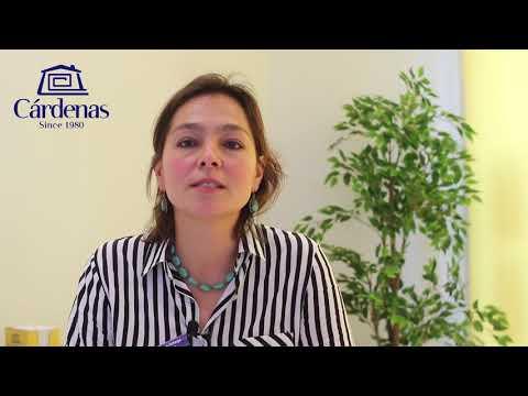 Ainhoa Ortega proudly introduces the Cárdenas Transaction Team / Kjøp eiendom trygt