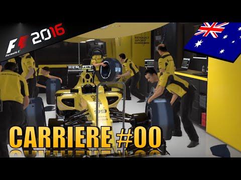 Mes débuts chez Renault - Carrière F1 2016 #00 (PS4)