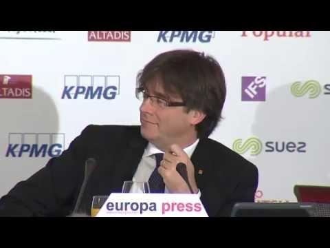 Desayuno Informativo de Europa Press   Carles Puigdemont