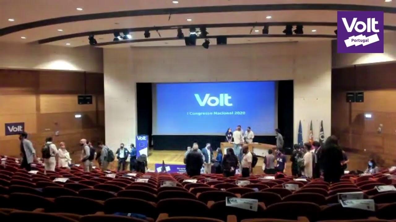 YouTube: I Congresso Nacional Volt Portugal 2020 - Parte 2