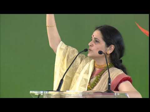Dr Richa Chopra : Senior Member - Faculty Art of Living - India - Speaker, IWC 2014