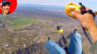 Lost GoPro at 3000' While Eating Egg McMuffin on Paramotor (Powered Paragliding)