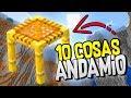 👉 MINECRAFT 1.14 👈 10 COSAS QUE PUEDES HACER CON EL ANDAMIO