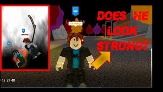 Roblox | Acting like a noob #2 - Super Power Training simulator!