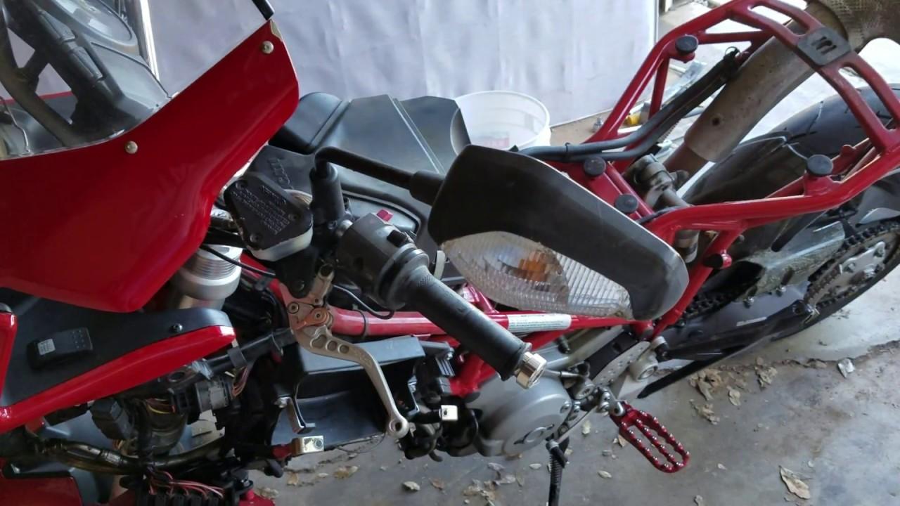 Ducati Multistrada 2004 2009 Body Panel Fuel Tank