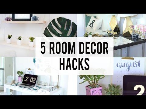 5 Decorating Room Hacks  Ann Le