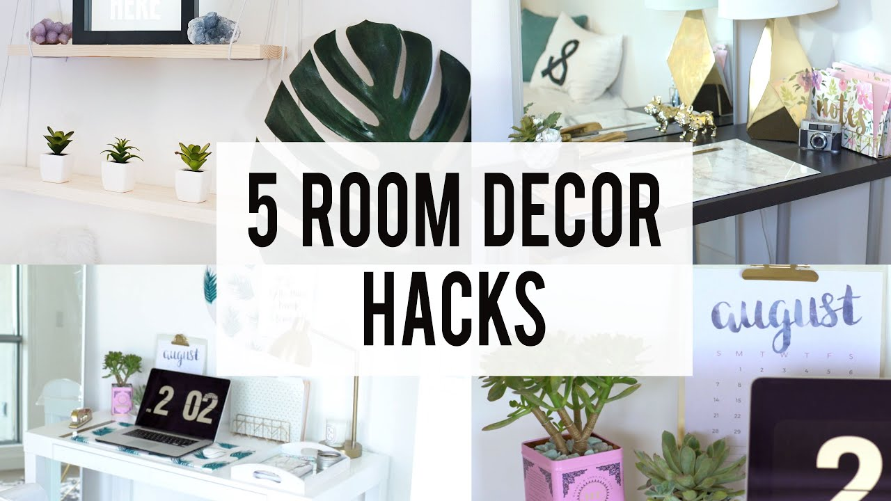 Great 5 Decorating Room Hacks | ANN LE   YouTube