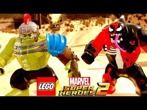 HULK VS CARNOM TESTANDO A ARENA DE BATALHAS no LEGO Marvel Super Heroes 2 EXTRAS #3