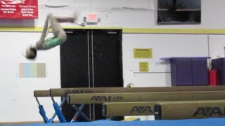 Annie the Gymnast | Practice Makes Perfect | Acroanna