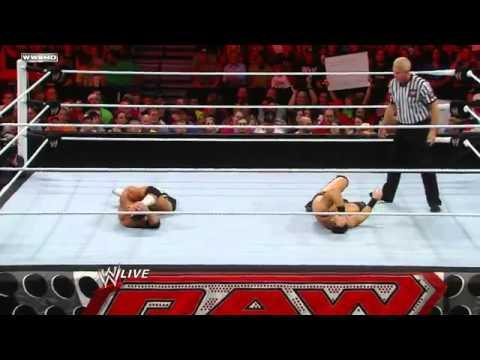 Raw:  Alex Riley Vs. The Miz - WWE Championship Tournament  Quarterfinals