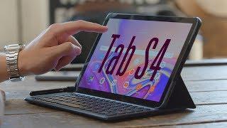 Знакомство с Galaxy Tab S4