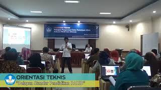 Ortek Petugas Pengumpul Data Pemetaan Mutu Satuan PAUD Dikmas Tahun 2018