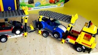 Собираем машины. Катаемся на Автовозе. Конструктор LEGO для детей(В прошлой серии мы собирали Автовоз из конструктора LEGO, а сегодня мы будем собирать две машины Лего. Наш..., 2015-10-06T20:18:37.000Z)