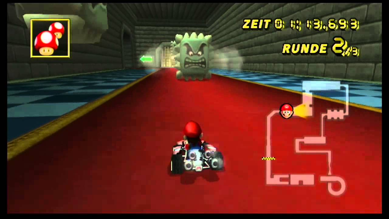 Let S Show Mario Kart Wii N64 Bowsers Festung Bowser S Castle Time Trial