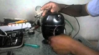 ligando motor de geladeira sem rele