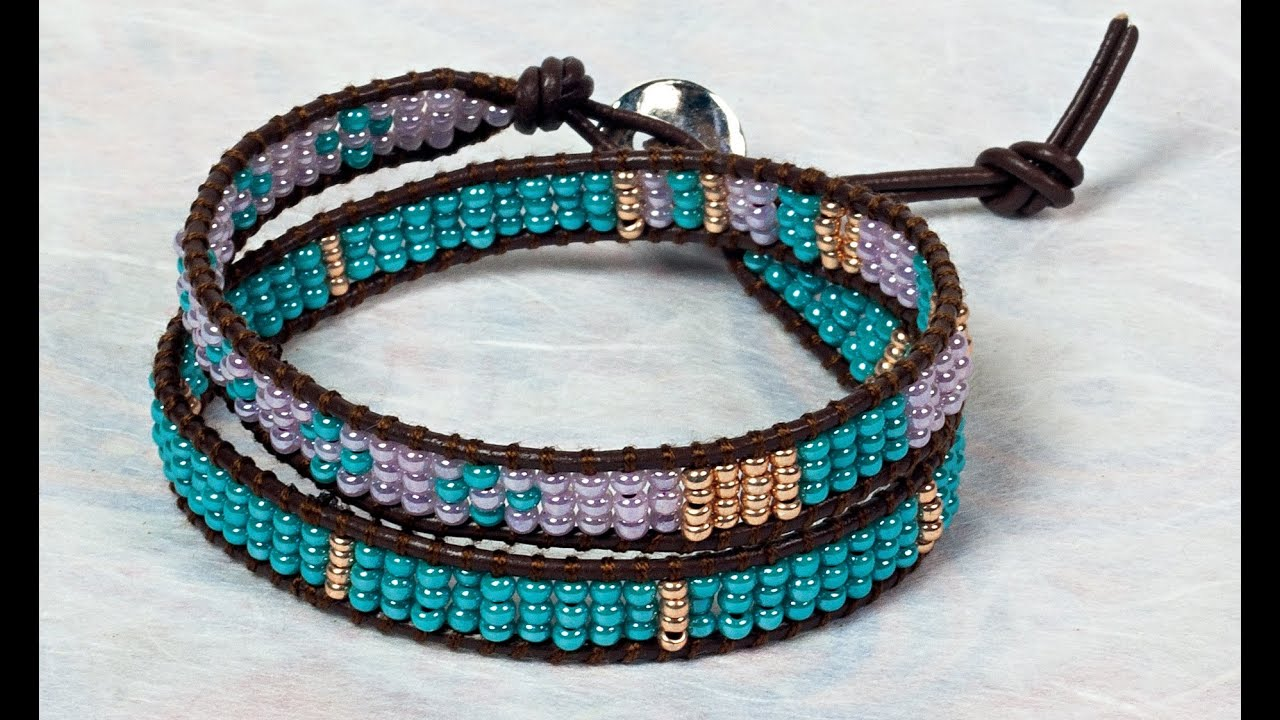 navajo bead designs. Design 9: The Navajo Wrap Bracelet Bead Designs
