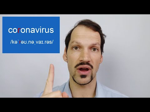 How To Pronounce CORONAVIRUS (avoid THESE Mistakes)
