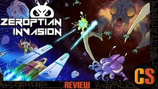ZEROPTIAN INVASION -  REVIEW (Video Game Video Review)