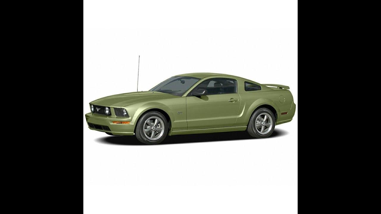 Ford Mustang Mk5 2005 2010 Service Manual Repair Manual Wiring Diagrams Youtube