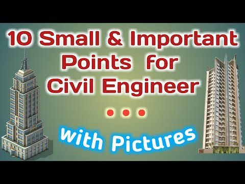 Civil Engineering Basic Knowledge   Top 10 Small Points for Fresher Civil Engineer must know