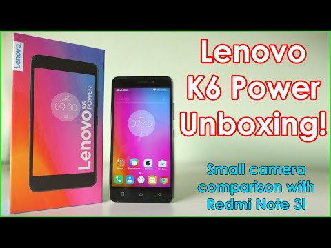 Lenovo K6 Power Unboxing & Impressions! (Retail Unit) Can 2 Jio Sim cards work at the same time ?