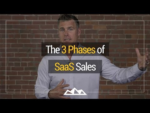 The 3 Phases of SaaS Sales | Dan Martell