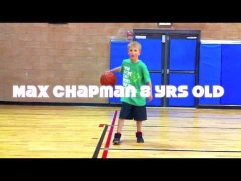 8 Year Old Basketball Rising Star Max Chapman has Amazing Handles!
