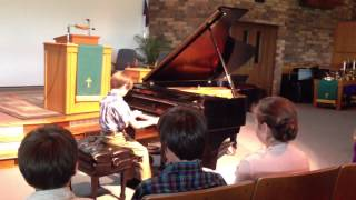 Nathan's spring piano recital May 2013 Thumbnail
