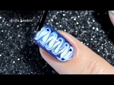 Dry Marble Nail Art Youtube