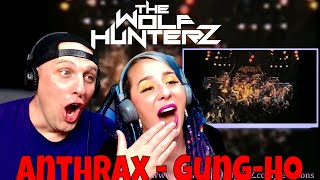 Anthrax - Gung-Ho | THE WOLF HUNTERZ Reactions